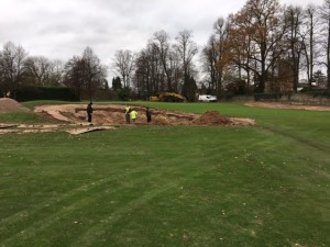 Reducing the size of bunkers and bringing them closer to green edges is an over riding philosophy.