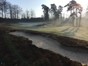 The larger greenside bunkers re instates the grand scale of this treasured landscape.