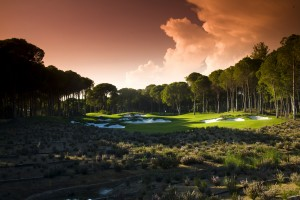 The Belek region in Turkey now has many fine golf courses including Carya Golf Club
