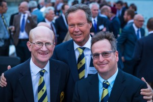 (left) Past President - Ross McMurray (centre) President - Christophe Staedler (right) Vice President - Tim Lobb