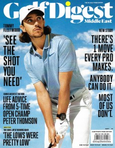 Tim Lobb featured in Golf Digest Middle East (September Issue)