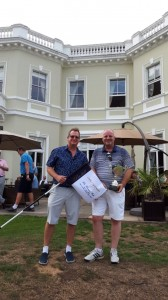 Mark Ganning, winner of the Thomson Cup with Tim Lobb.