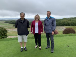L+P start work with Isle of Purbeck Owners David Suruki and Kathy Tatar