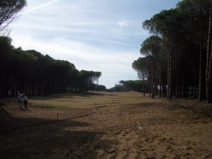 Carya 6th hole par 5 570 meter from Back